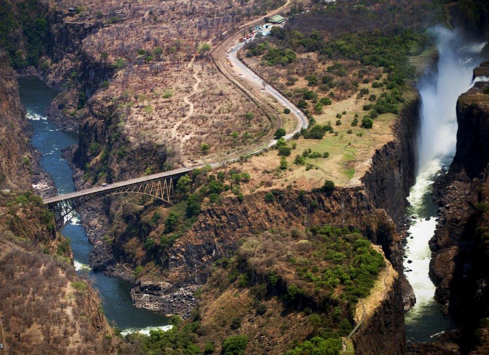 Victoria Falls Bridge, Zambia