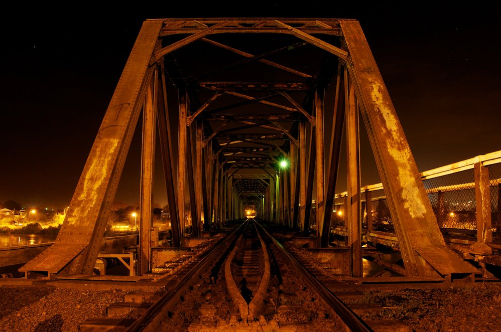 Wanganui Rail Bridge, New Zealand