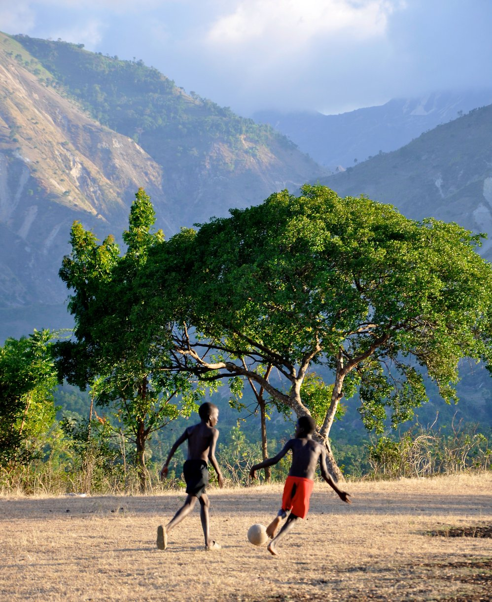 Haitian Soccer Field