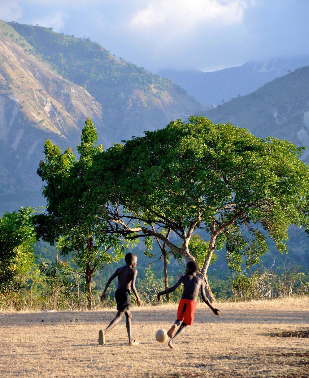 Haitian Soccer Field