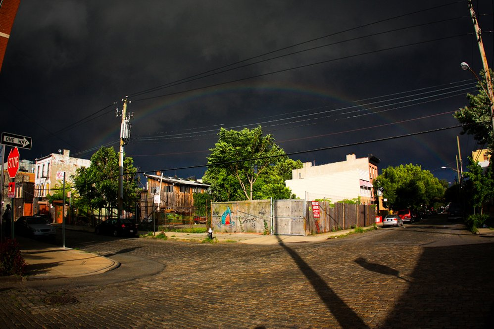 Rainbow Over Red Hook