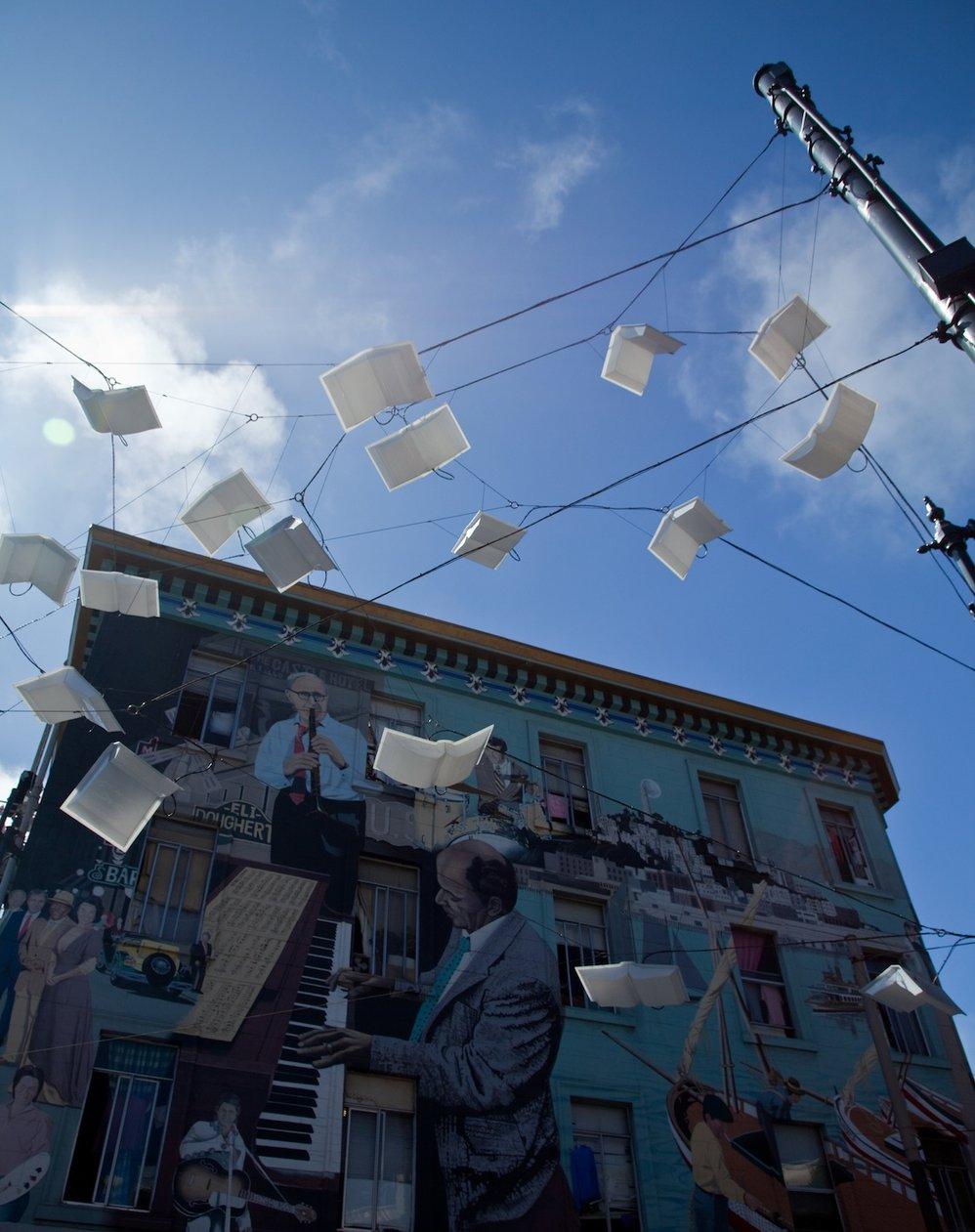 Books on a Wire